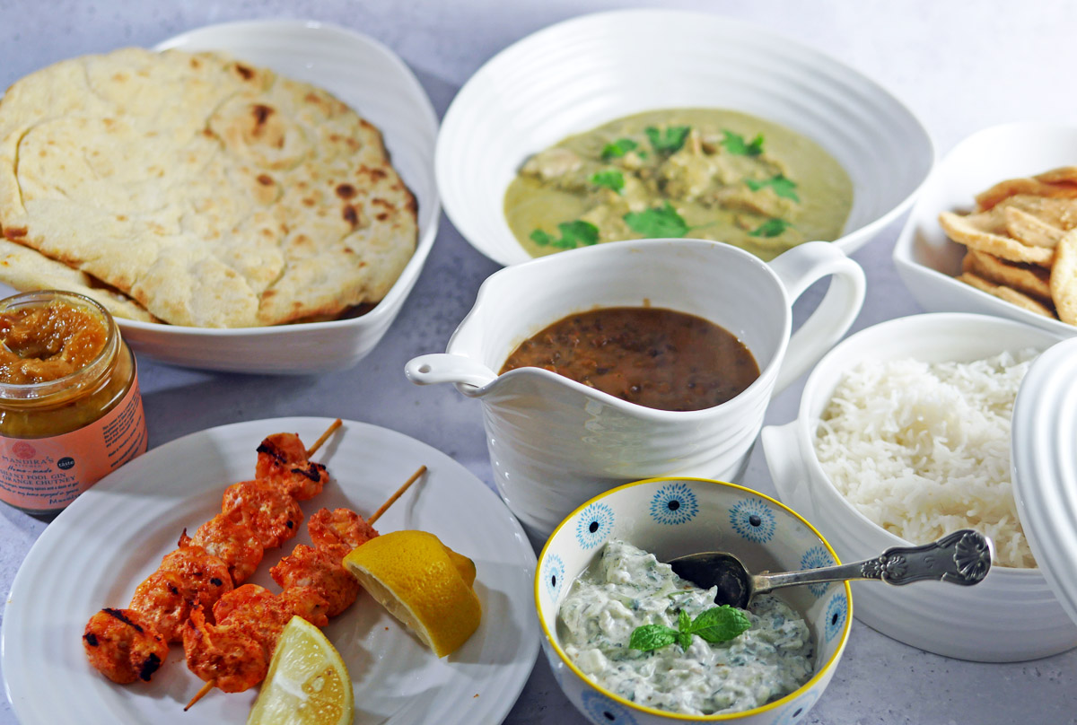 Mandira's Kitchen Feast