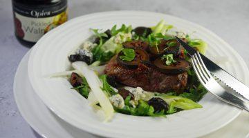 Opies Pickled Walnuts with Rump Steak