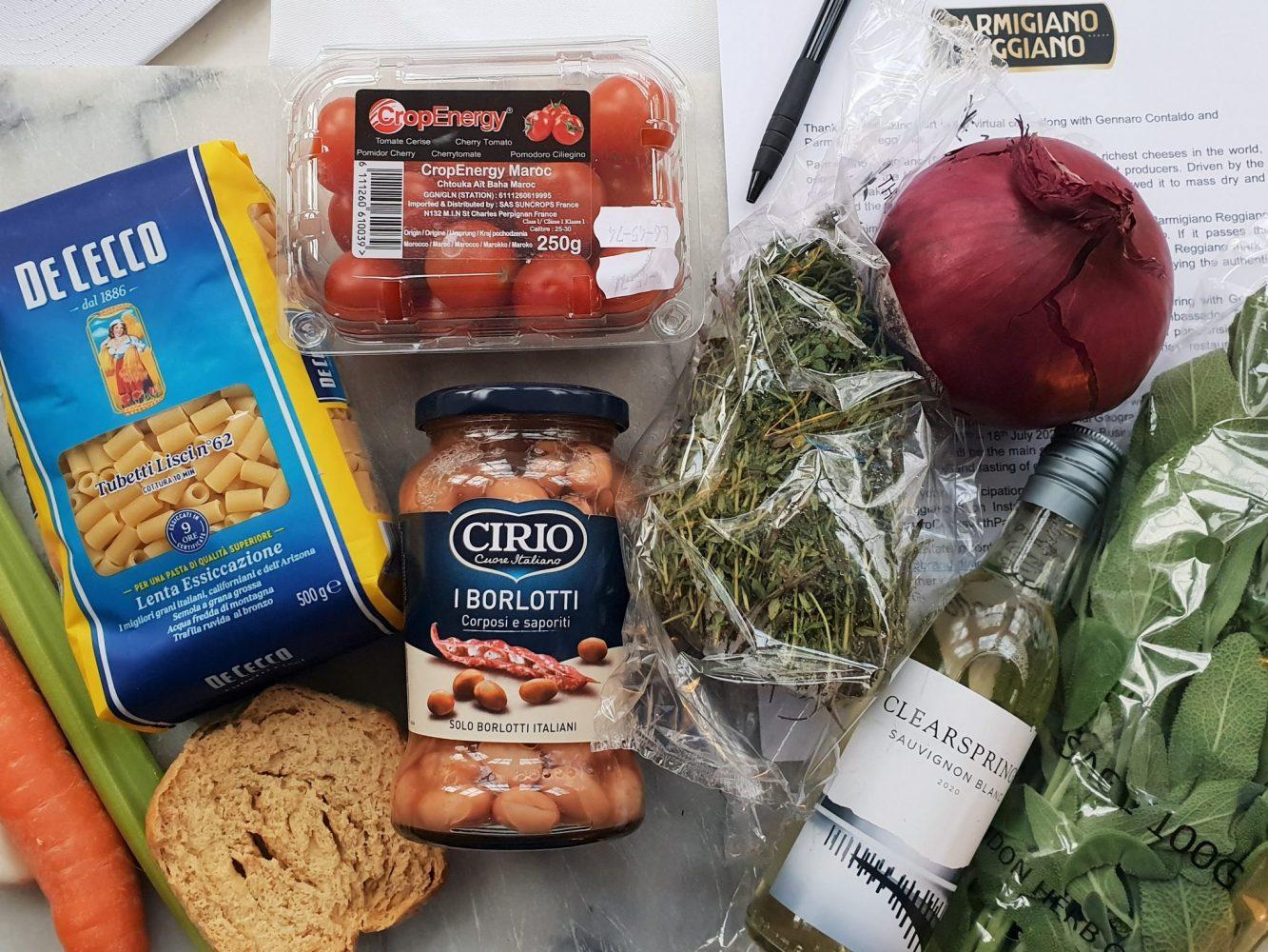 Parmigiano Reggiano ingredients