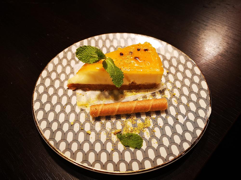 Salaam Namaste Cheesecake