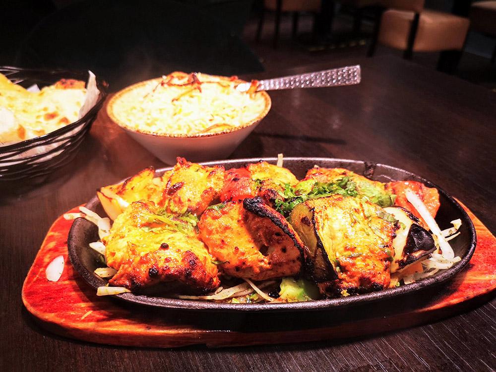 Salaam Namaste Chicken Shashlik