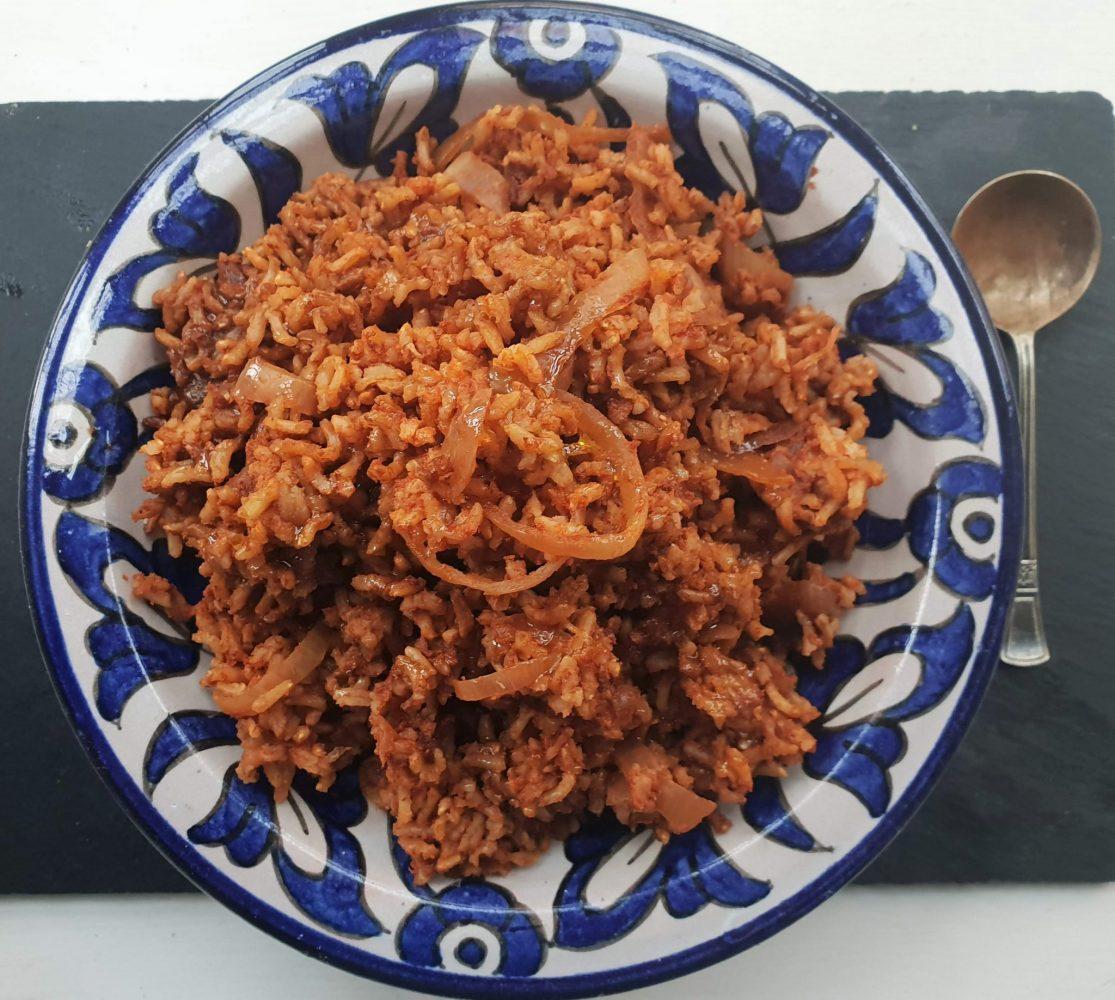 Simply Garlic and tomato rice
