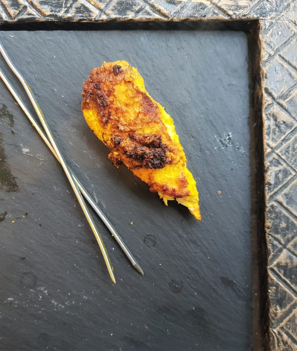 Simply tumeric chicken kebabs