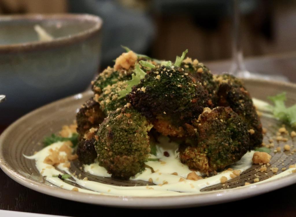 Tandoori broccoli