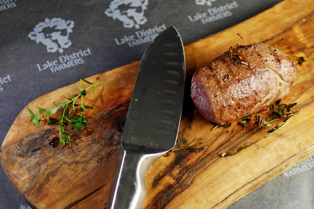 Venison Haunch Steak Sous Vide - Cooked