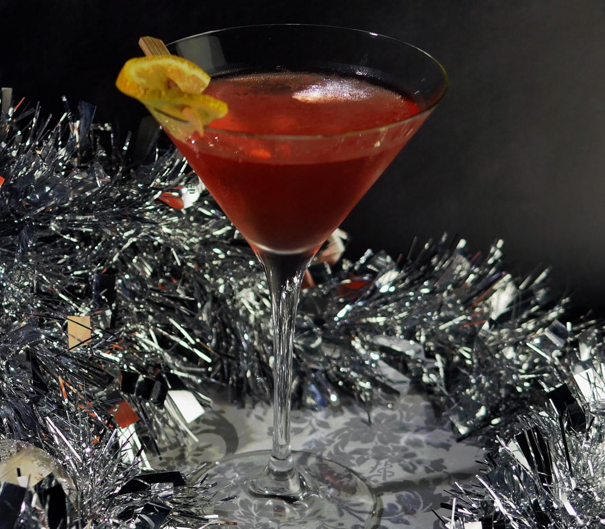 Vodka Martini with Damson