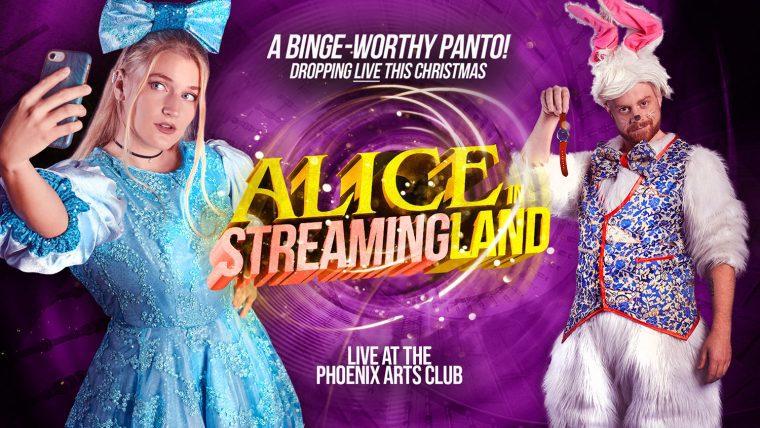 Alice in Streamingland white rabbit