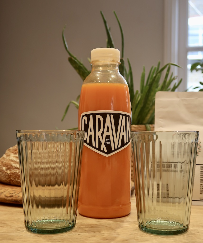 Caravan cold pressed juice