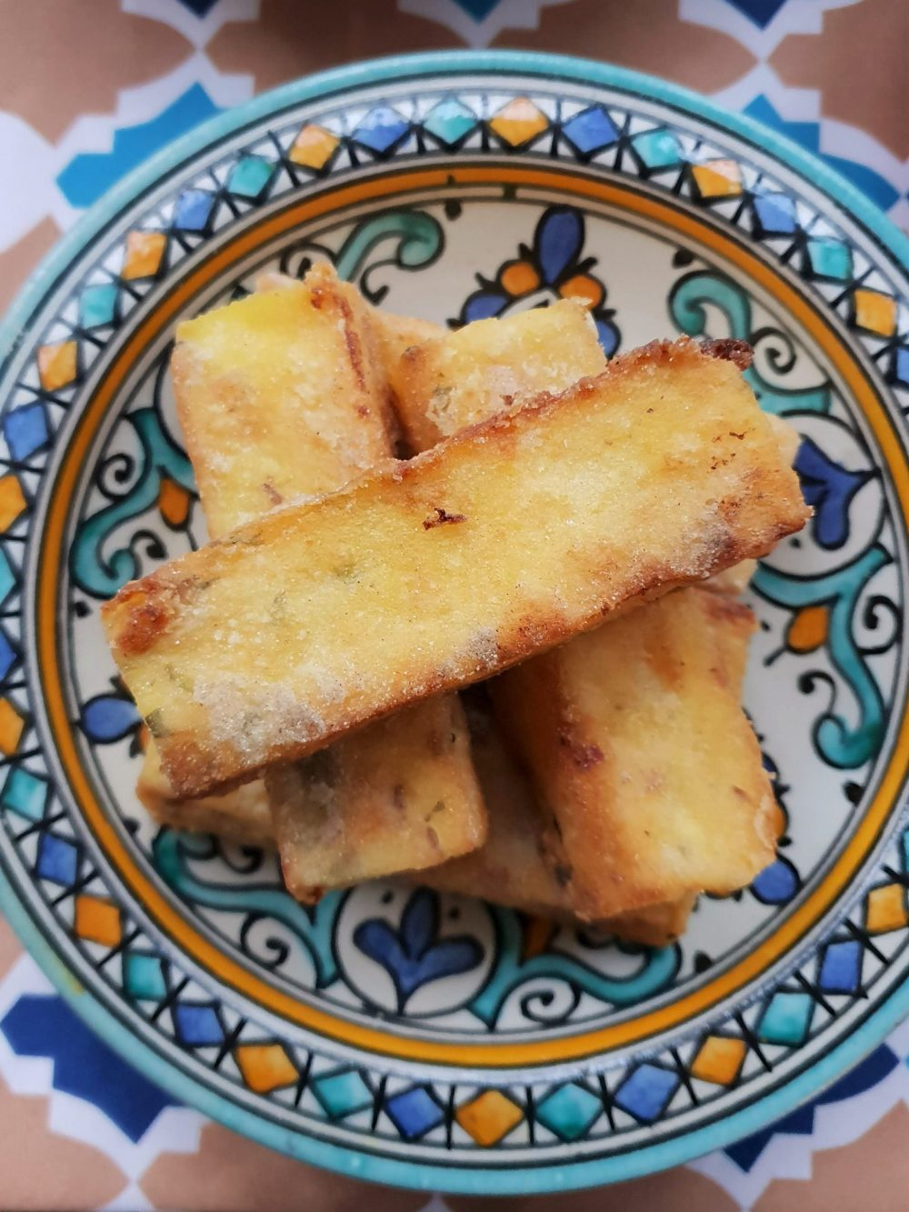 Ceru polenta fries