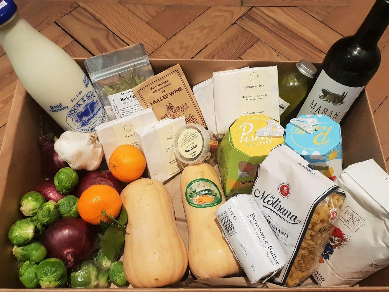 Christmas at Borough Market ingredients
