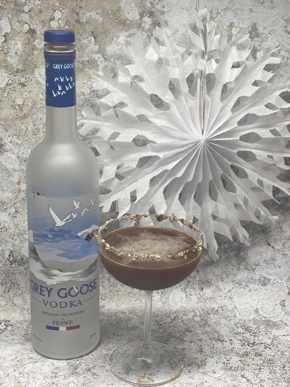 Giz n Green and Grey Goose - Cany Cane Espresso Martini