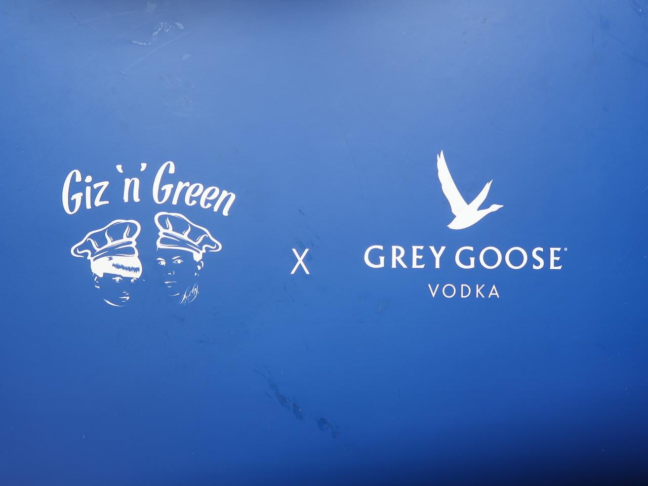 Giz n Green and Grey Goose box