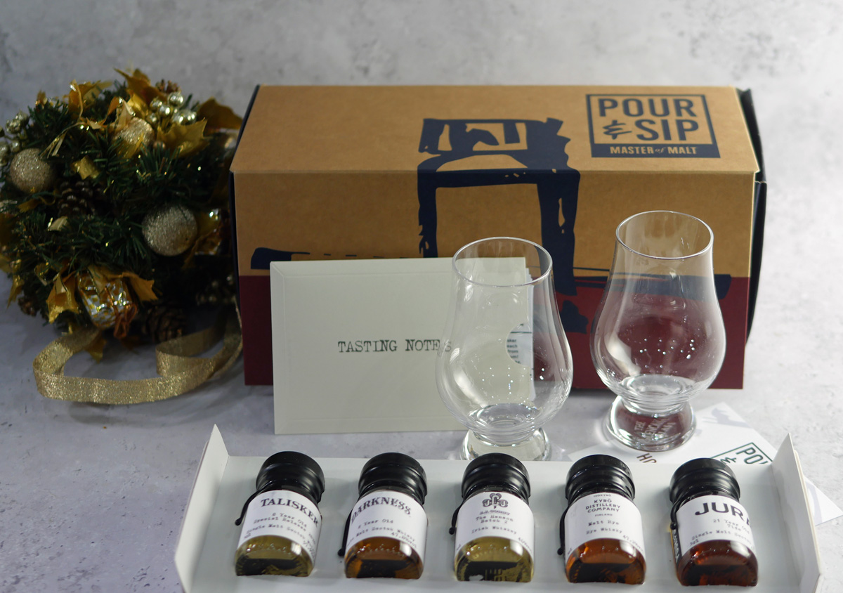 Pour and Sip Whisky Tasting