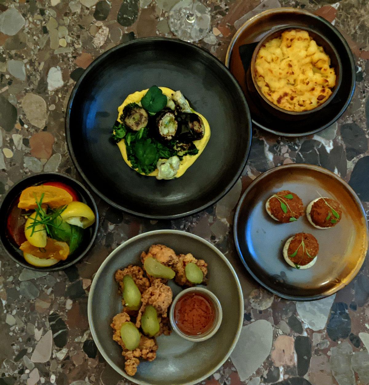 Selection of Bar Food - Columbia Hotel