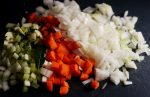 Vegetable soffrito chopped