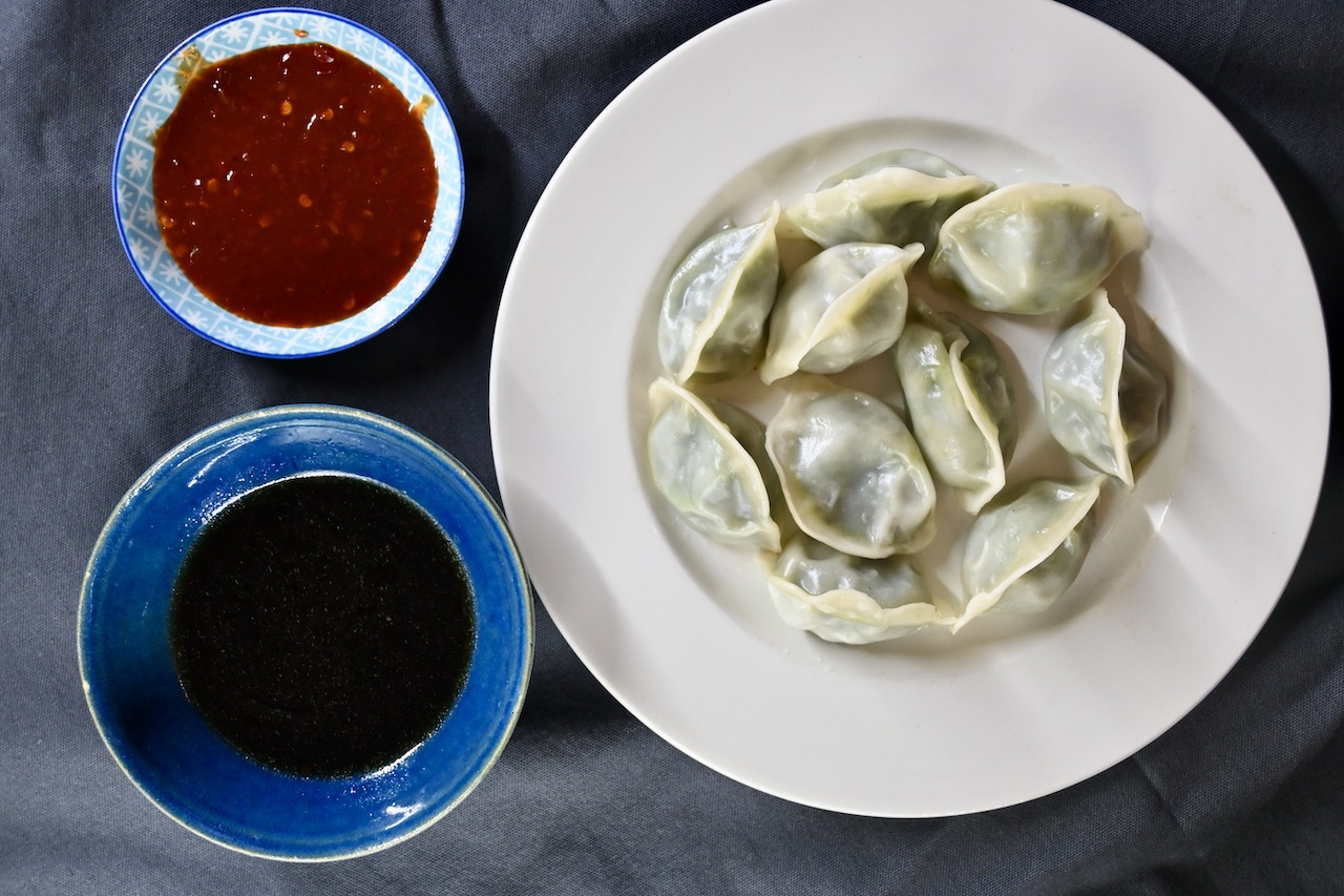 Lu Ban Pak Choi Dumplings