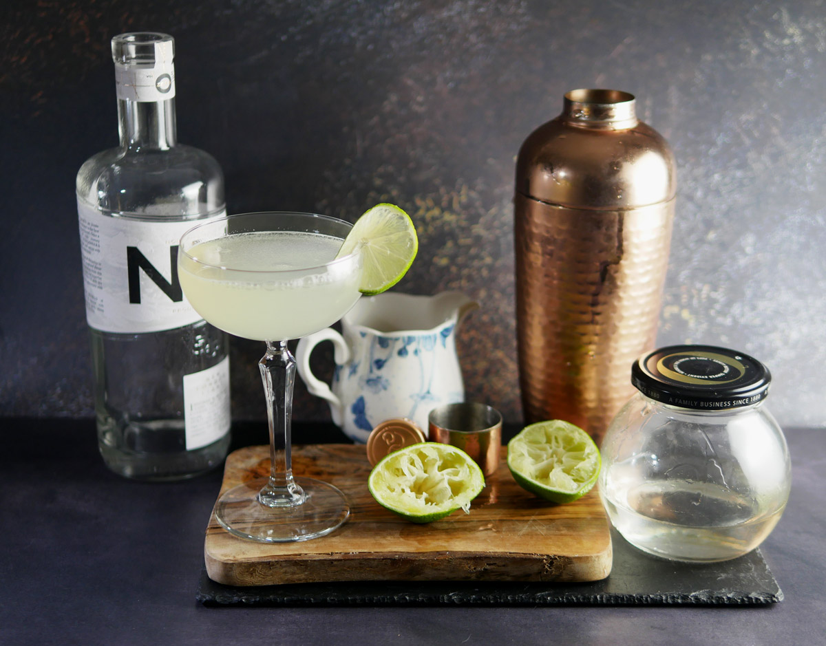 Non Alcoholic Gimlet with NLL