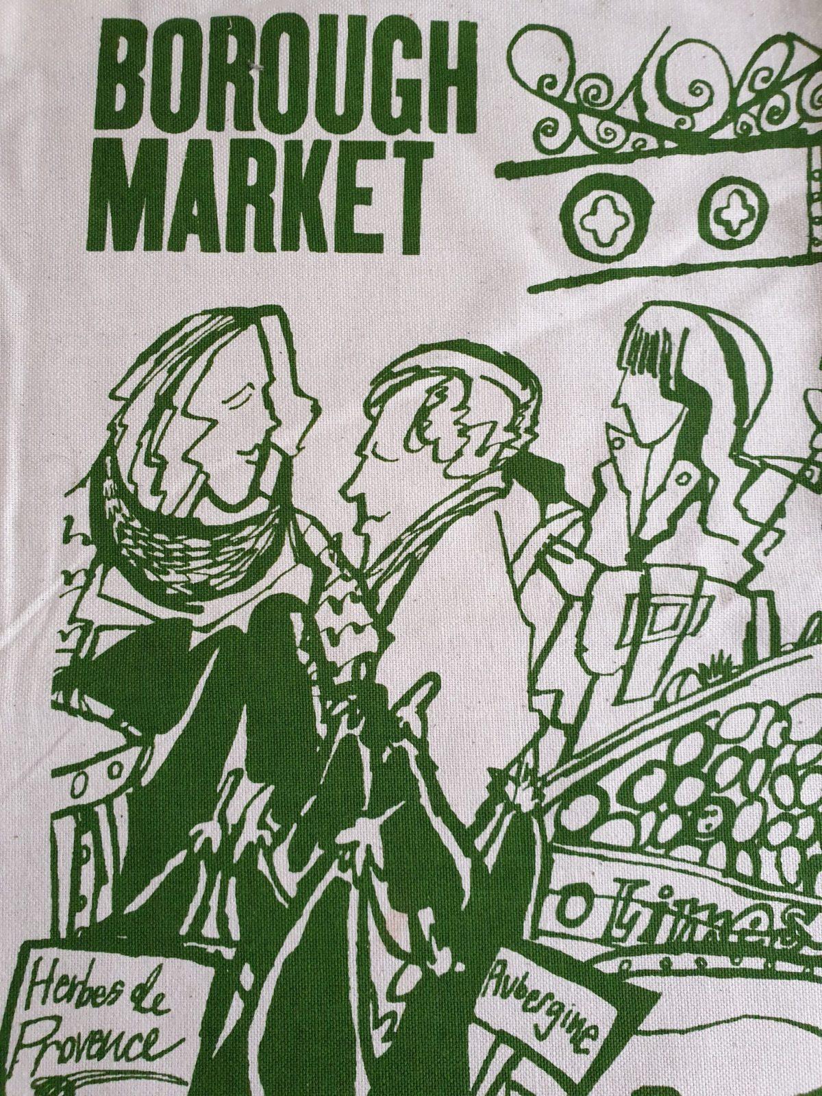 Borough Market tea towel-min