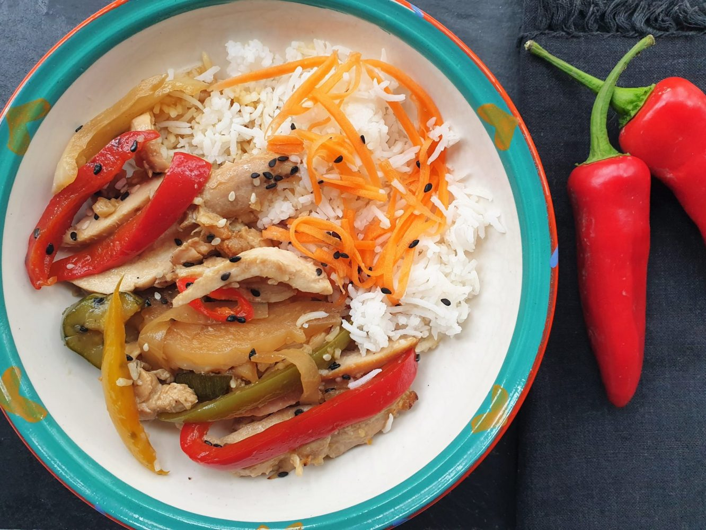 Chef Jen Teriyaki chicken