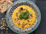 Chef Jen spicy butternut and lentil soup