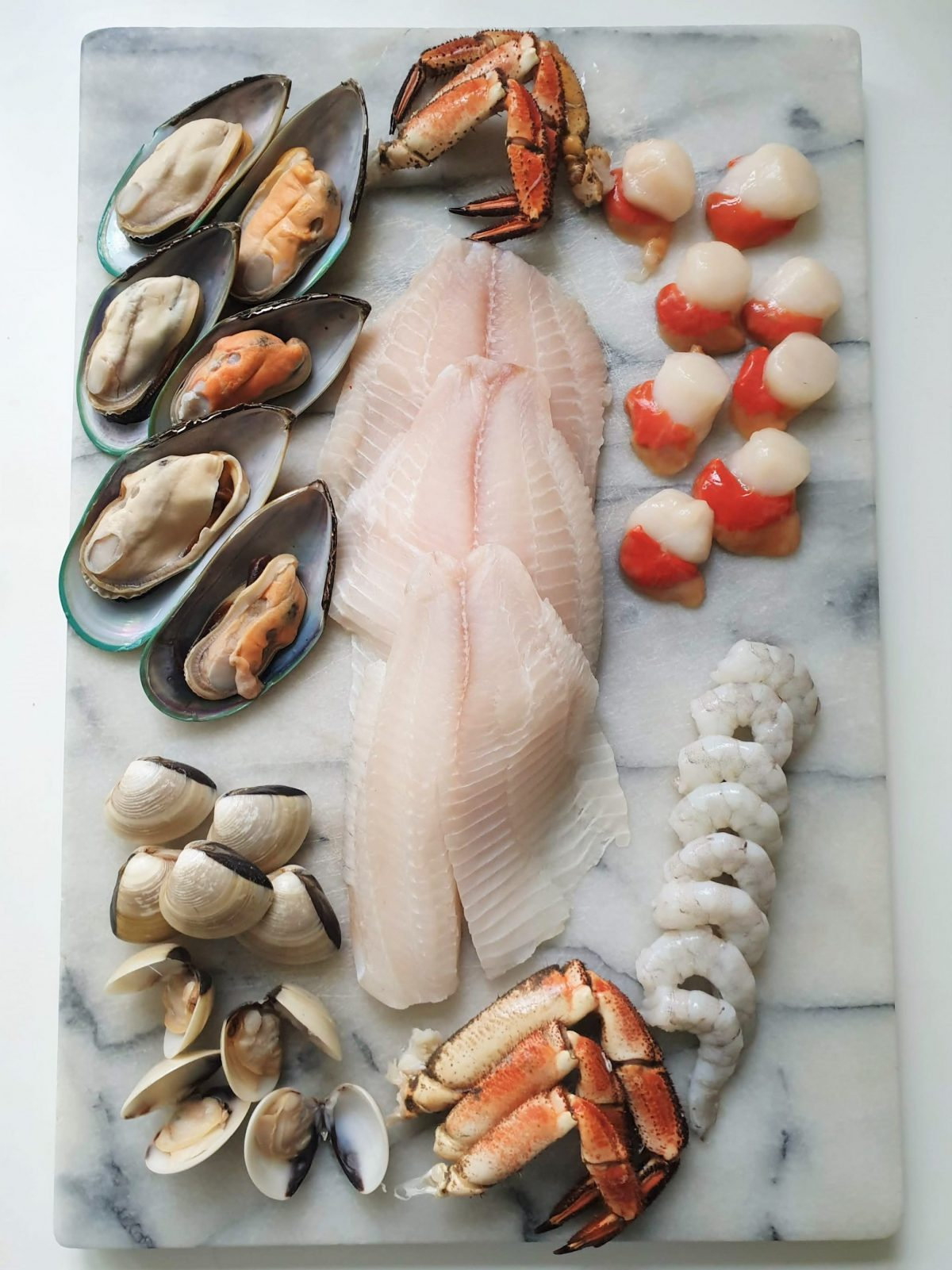 Cioppino shellfish collection from Berwick Shellfish Co.