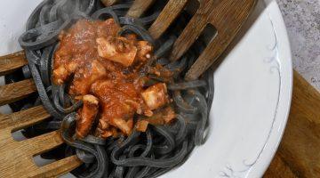 Fidelari -squid ink troccoli with octupus ragu 1