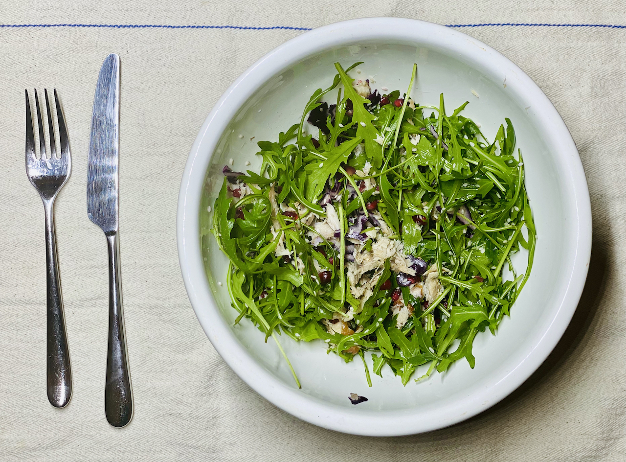 Love Yourself - mackerel salad