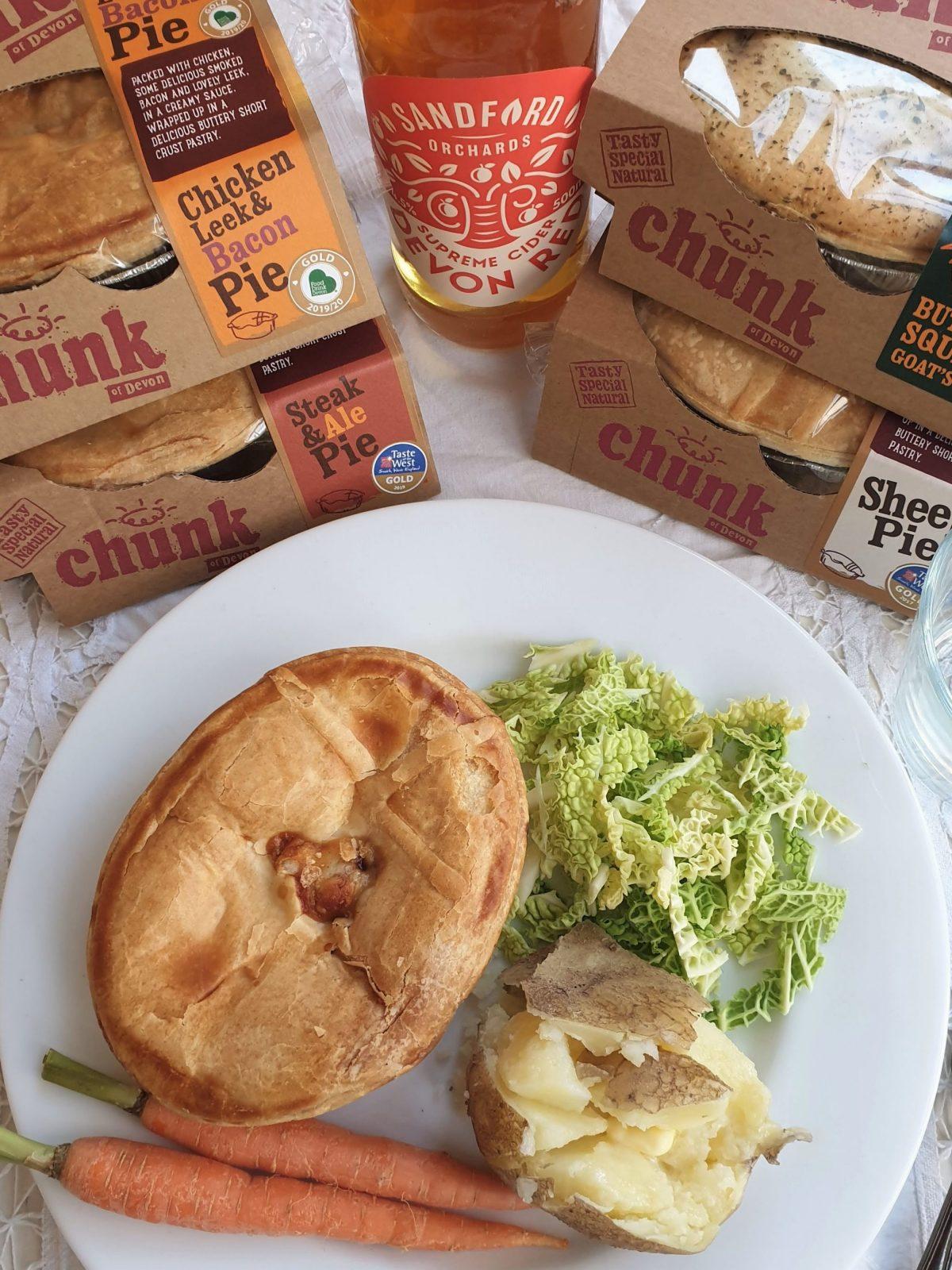 Chunk of Devon pie for lunch