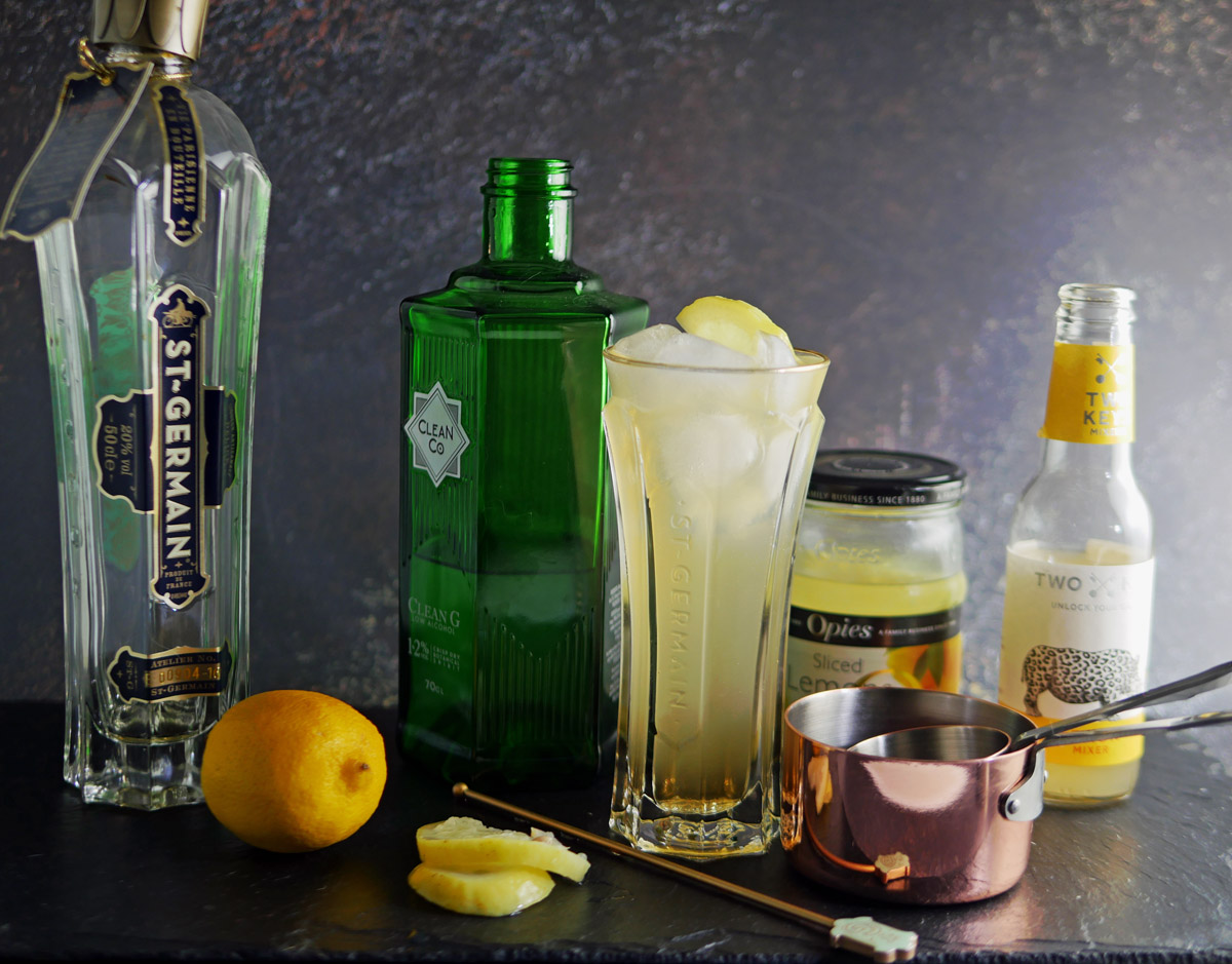 CleanGin Low Alcohol Gin Fizz