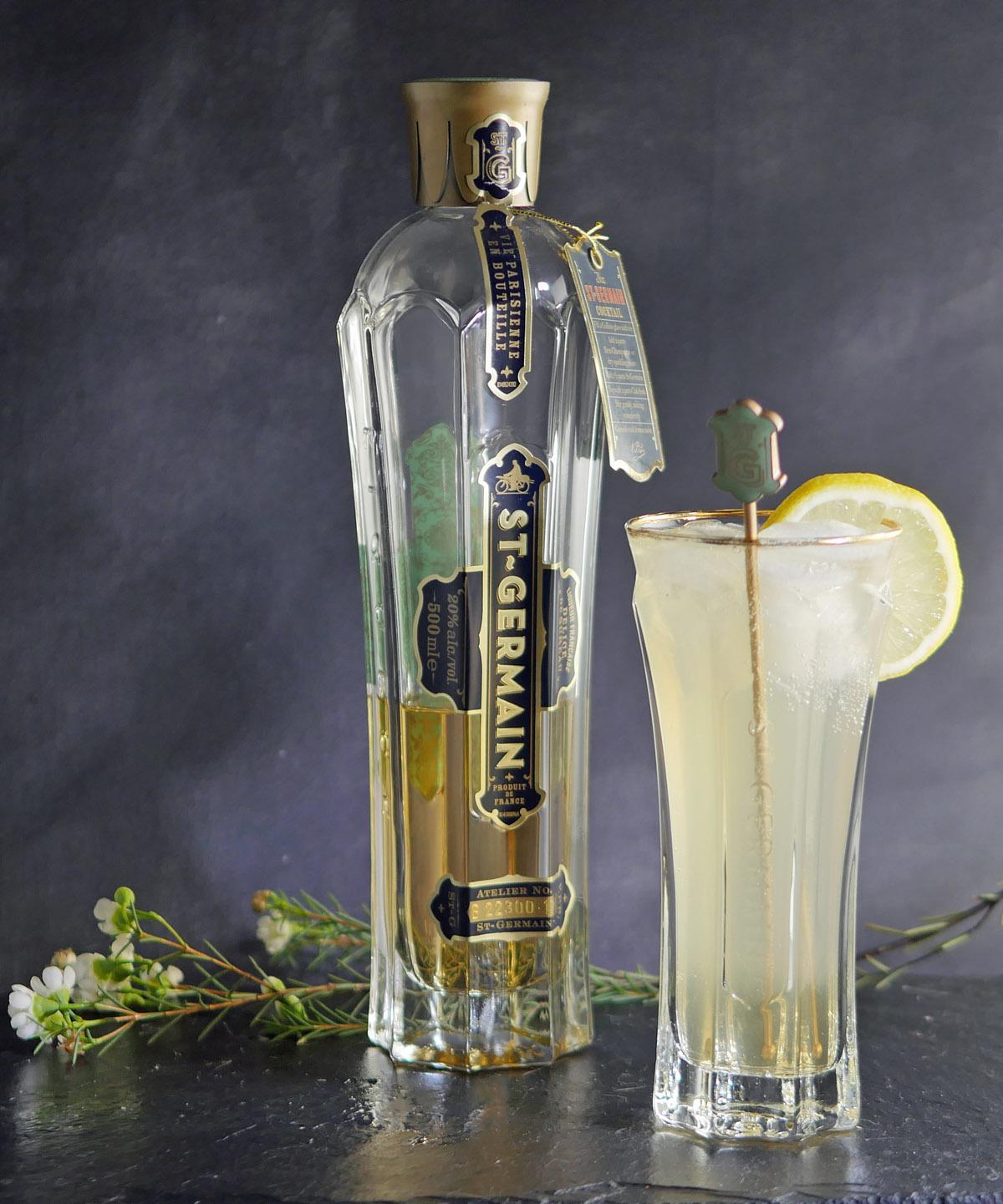 Elderflower Gin Fizz