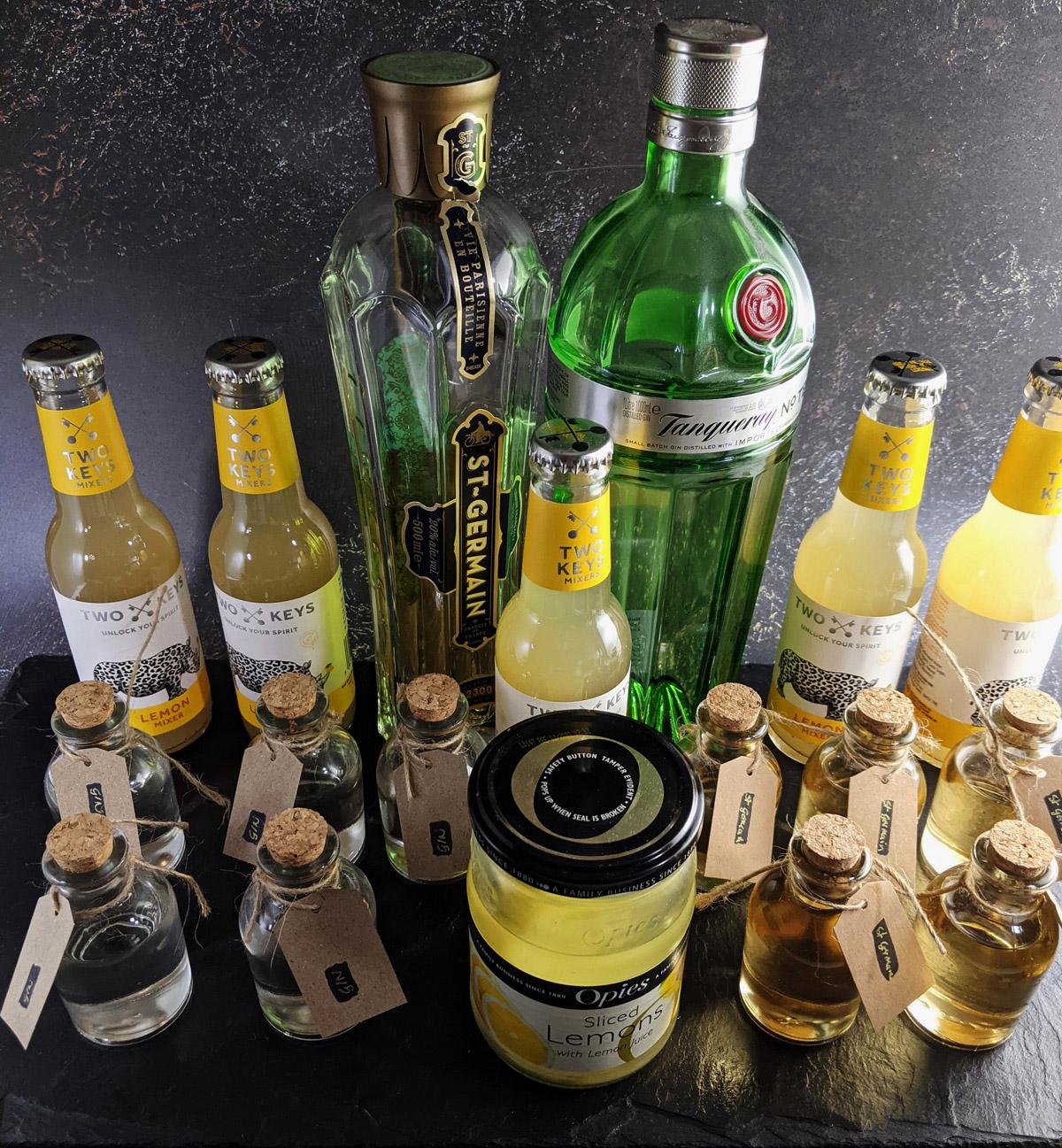 Gin Fizz with Elderflower