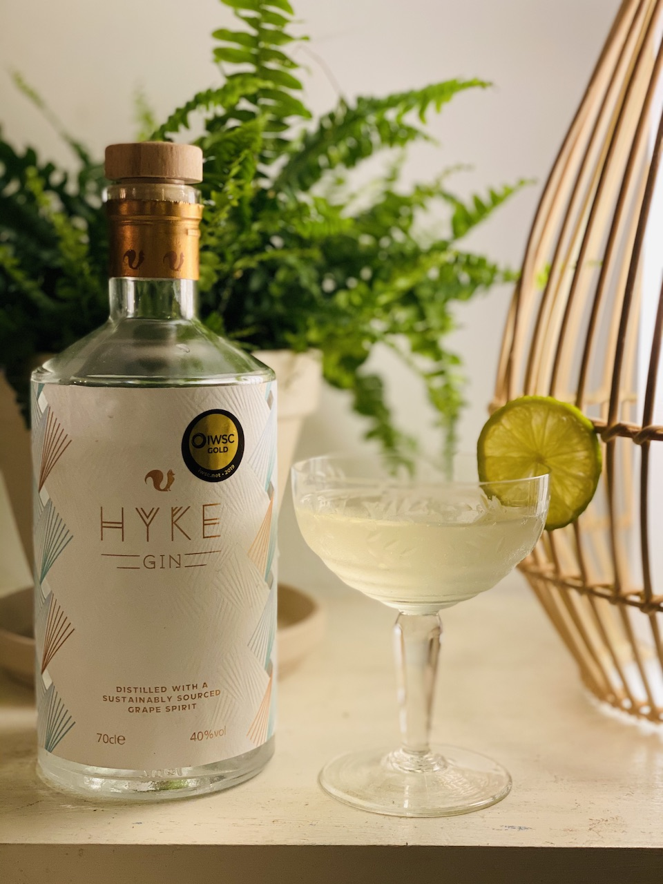 HYKE Gin - English Martini