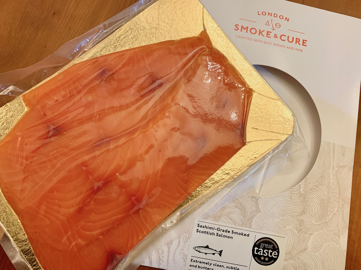 London Smoke and Cure sashimi-grade smoked salmon 4