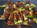 Michel Roux chicken liver salad