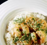 Noble House Prawns in Prosecco
