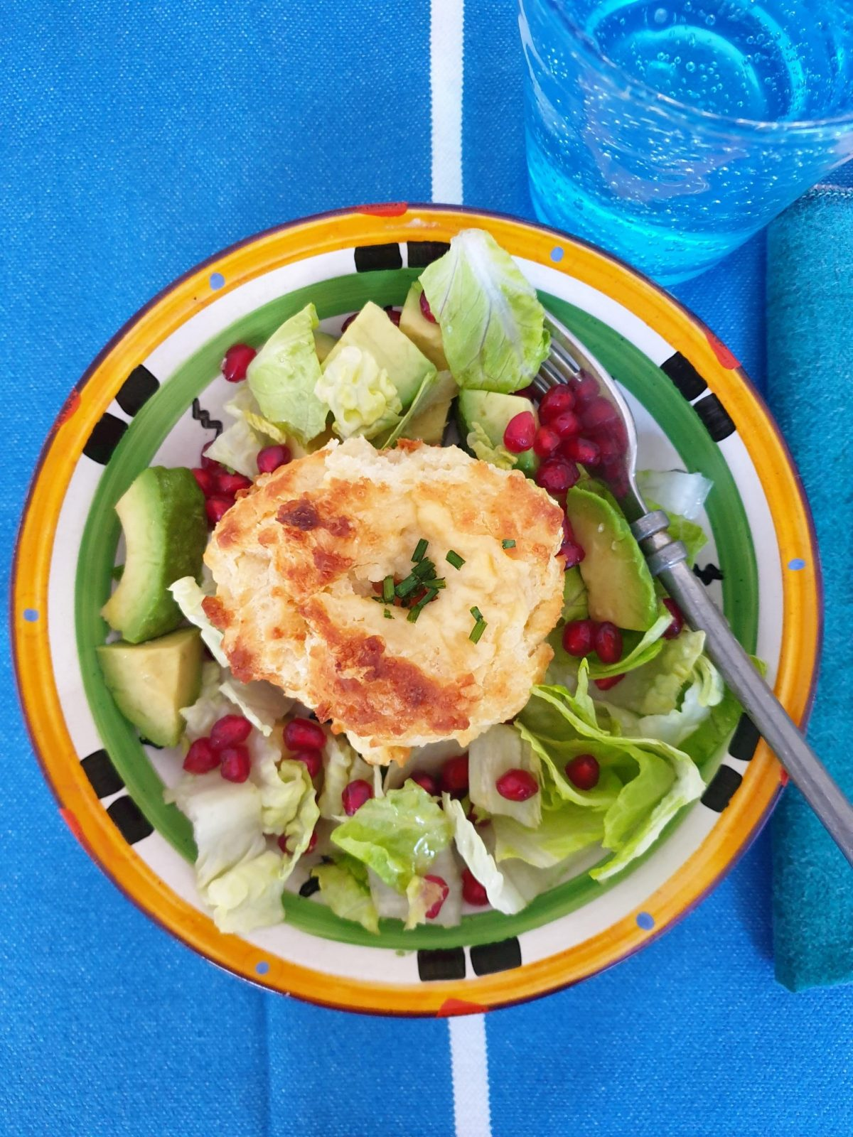 Recipes For Heroes cheese muffin lunch-min