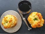Recipes For Heroes cheese muffins apero