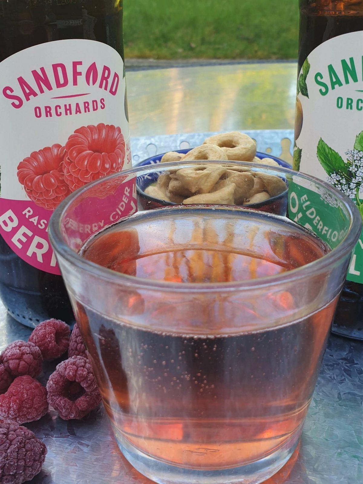 Sandford orchard raspberry cider