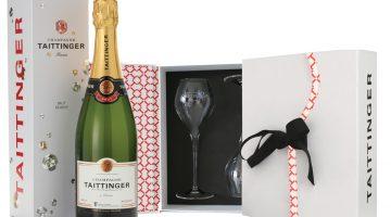 Taittinger BAFTA photo bottle & glass pack