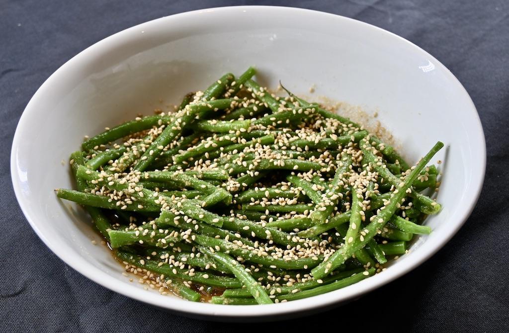 The Cookaway - Gomaae beans