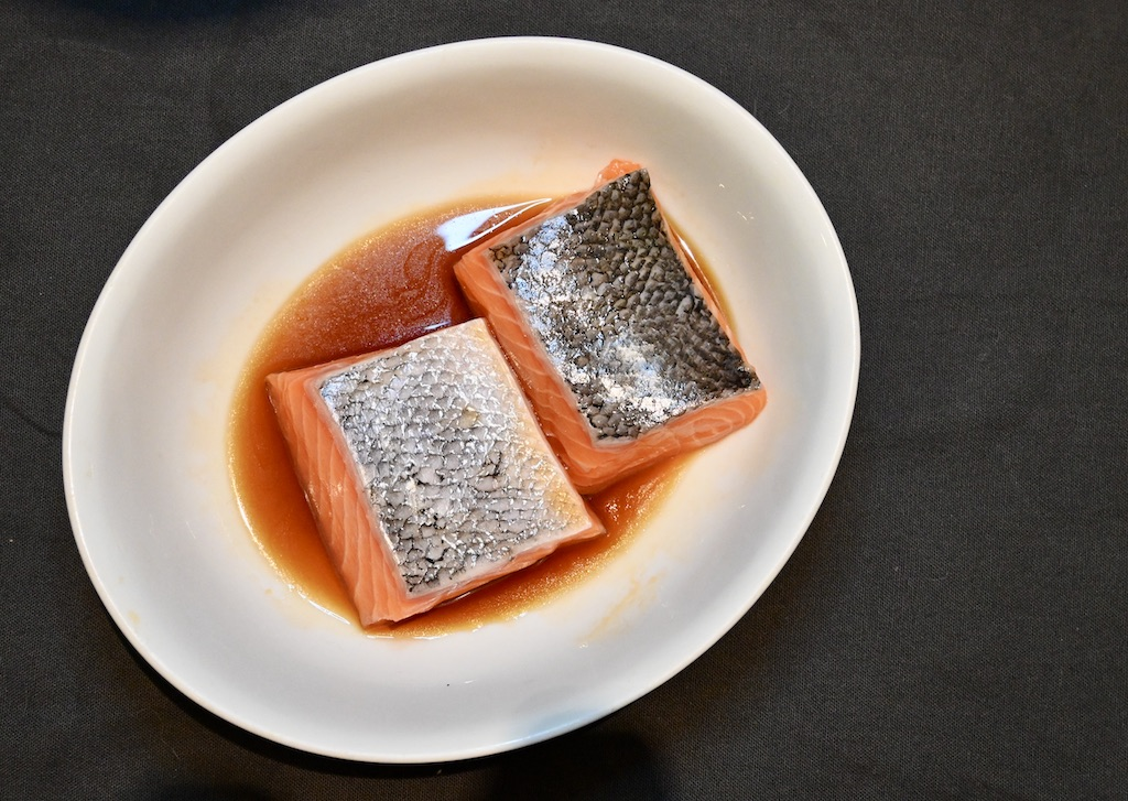 The Cookaway salmon fillets