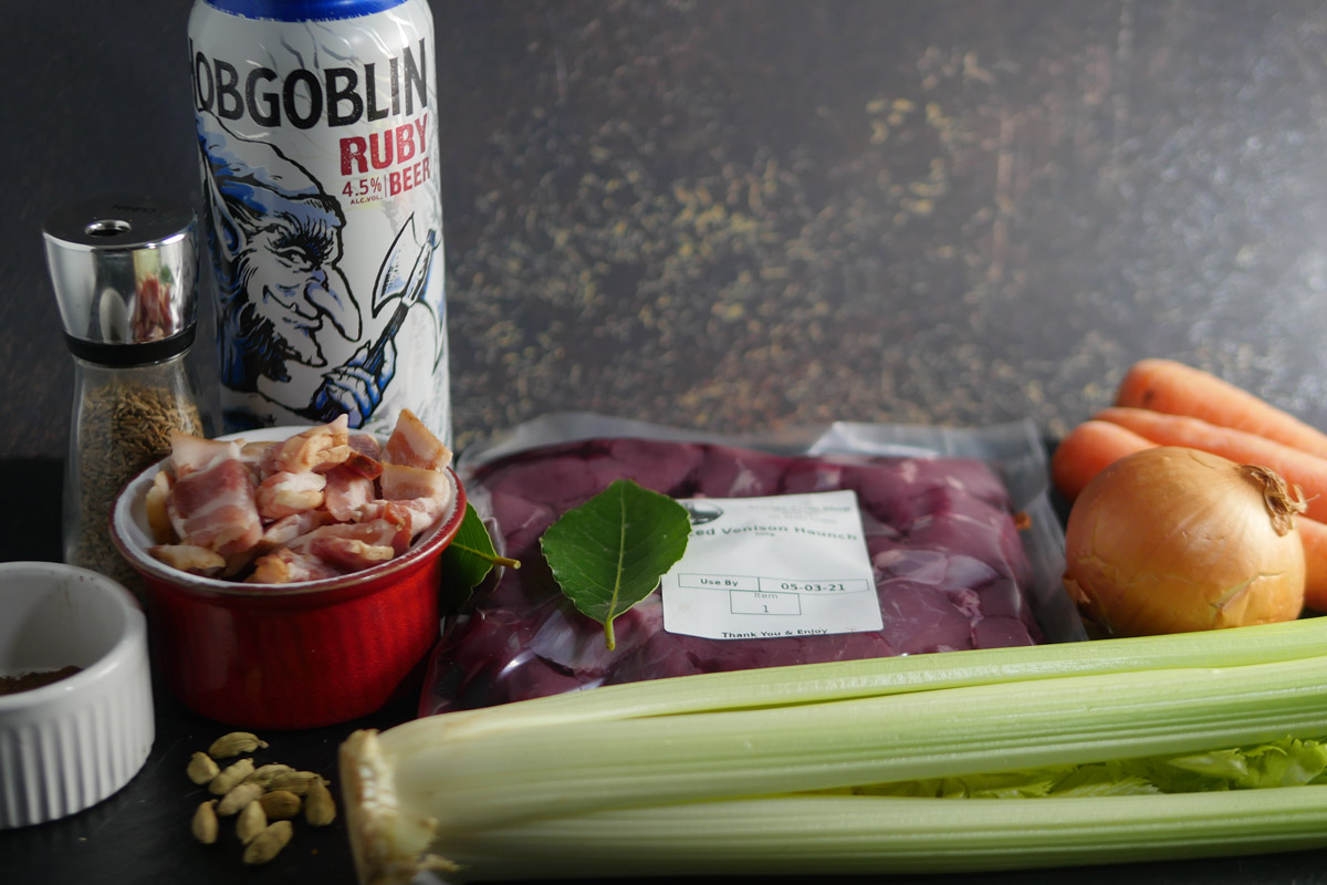 Venison Casserole Ingredients