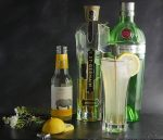 st germain gin fizz with tanqueray