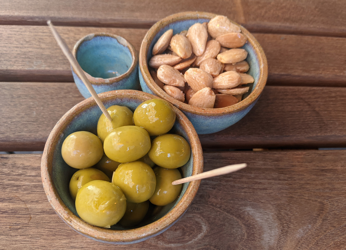 Cora Pearl Olives and Almonds