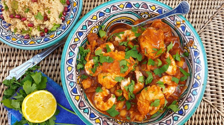 For The Love of the Sea spicy tagine