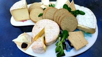 Paxton & Whitfield weekender cheeseboard
