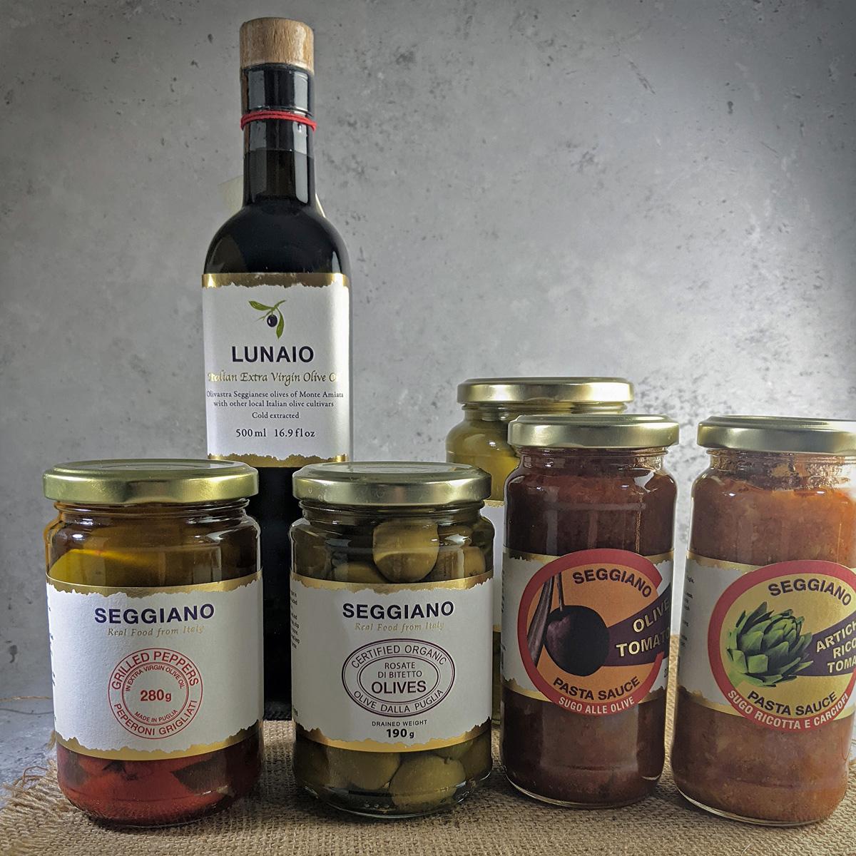 Seggiano Products Puglia
