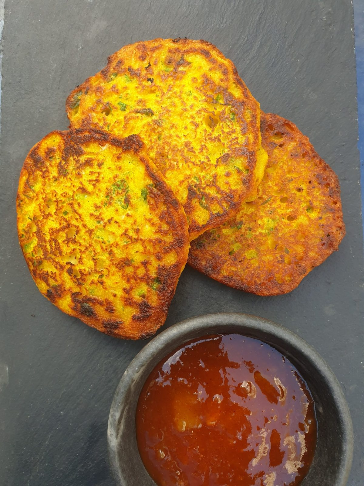 The Mighty Bean - dal pancakes