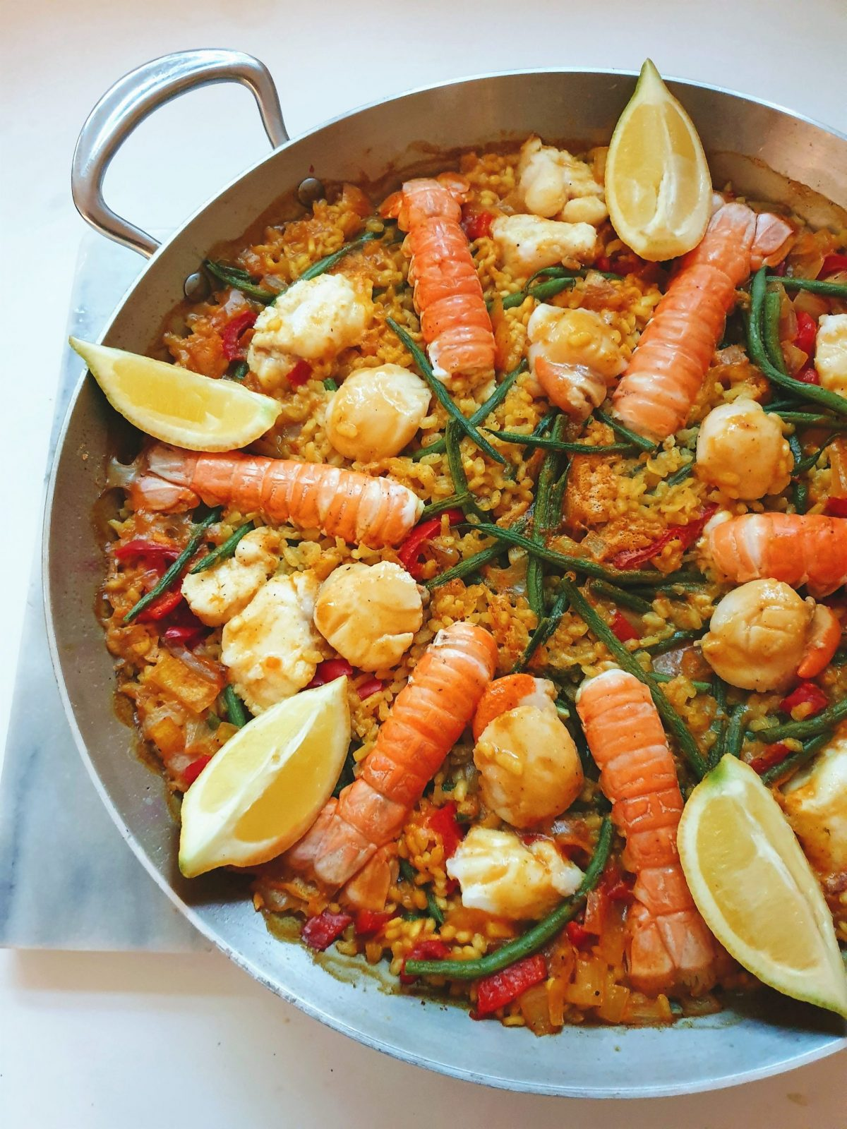 Amity seafood paella