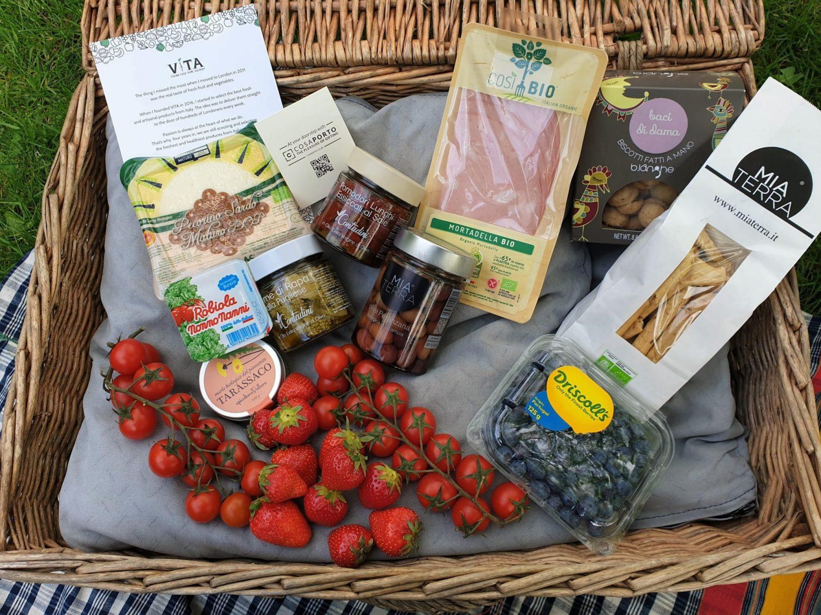 Cosaporto Italian picnic delivery service